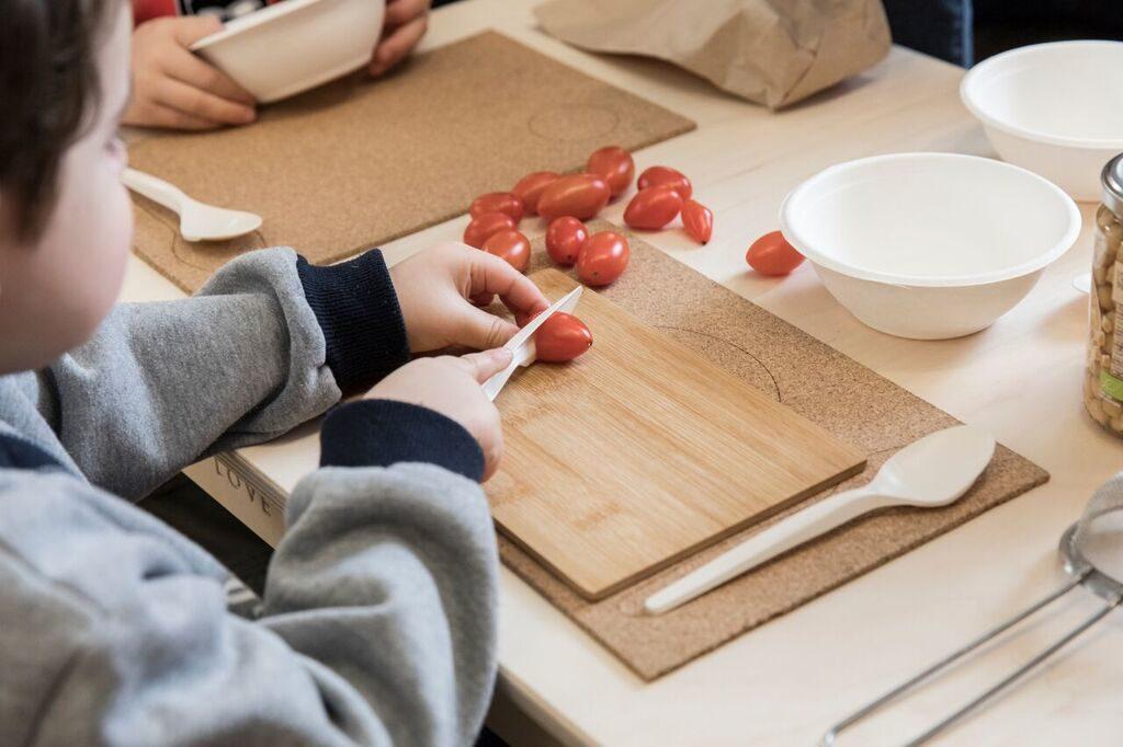 cucinare con montessori in cucina